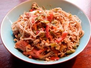 Chilli Chicken & Noodles